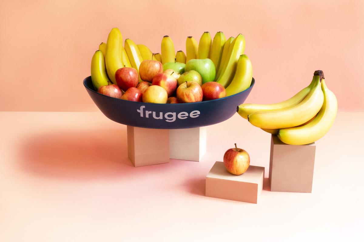 Apfel-Bananen Korb